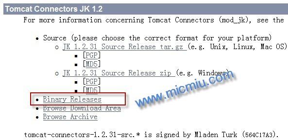Binary Mod_jk.so File For Mac