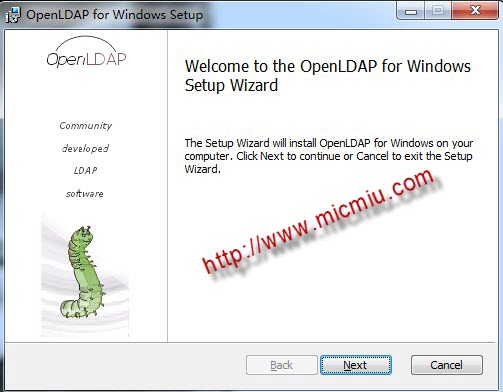 图文介绍openLDAP在windows上的安装配置| micmiu - 软件开发+生活点滴